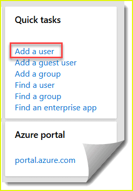 How to create user in Azure active directory