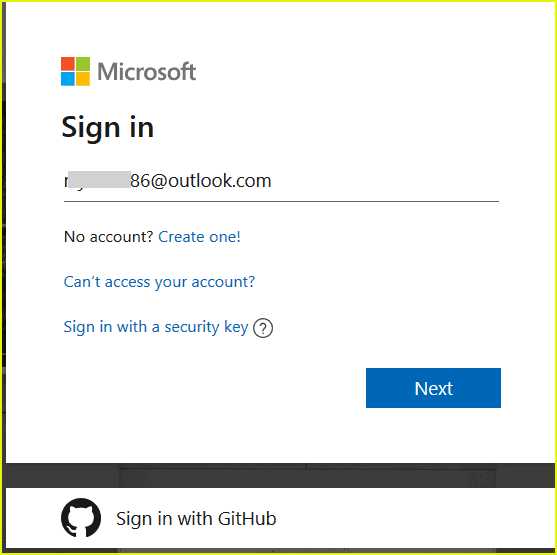 create azure free account sign up