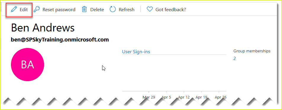 update azure ad username