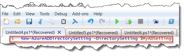 Azure AD group policy PowerShell