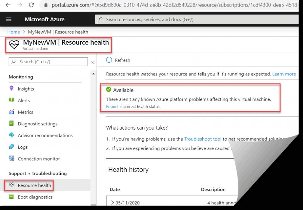 Azure virtual machine remote desktop can't connect