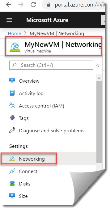 Azure vm accelerated networking