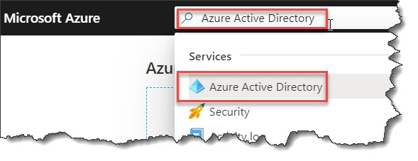 Grant permission to the front end access to the back end in Azure