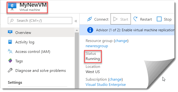 how to access azure vm