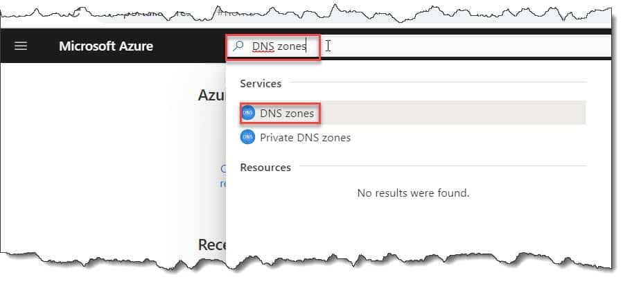 How to create a DNS zone in Azure