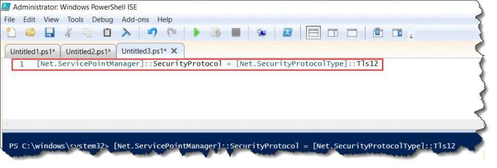 install-packageprovider no match was found for the specified search criteria for the provider 'nuget