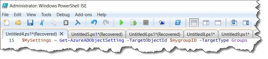 Update AD group settings for a specific group using PowerShell