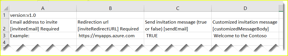 add bulk guest users in Azure AD B2B collaboration