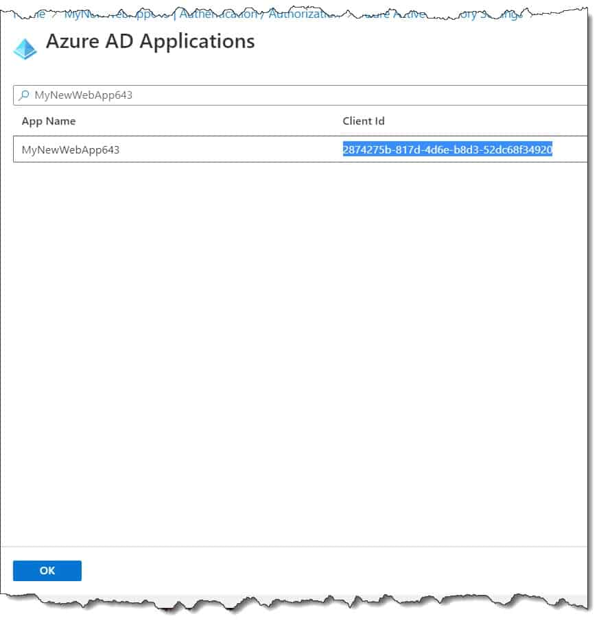 Why Azure web app authentication