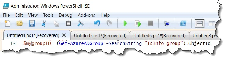 how to Create AD group settings for a specific group using PowerShell