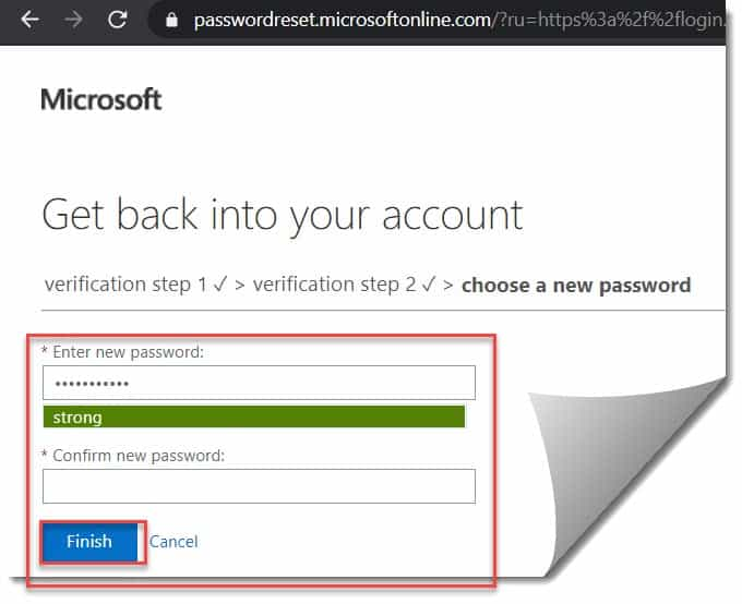 how to set self-service password reset azure