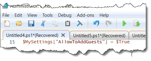 how to update AD group settings for a specific group using PowerShell