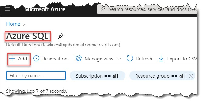Create SQL managed instance in azure