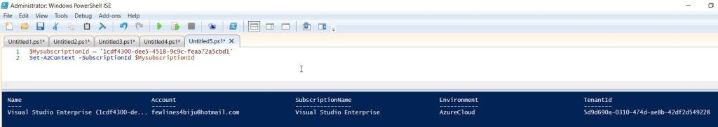 How to create an Azure SQL database using PowerShell