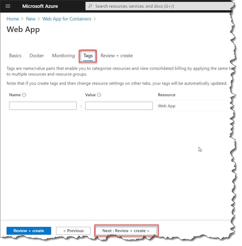 How to create azure container instances