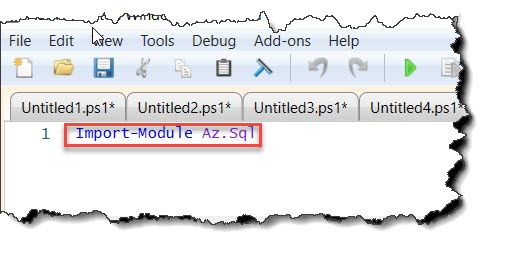 The 'New-AzSqlServer' command was found in the module 'Az.Sql'