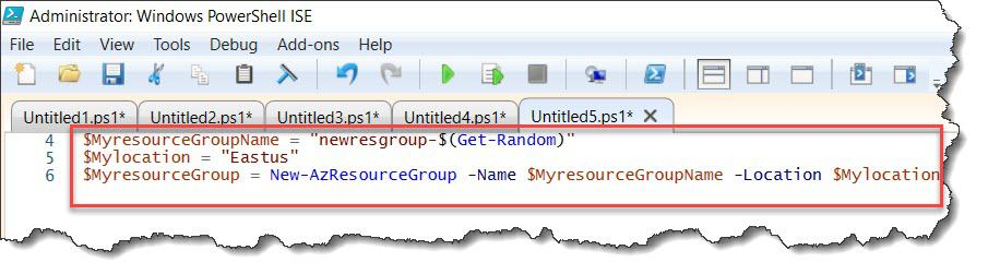 create an Azure SQL database using PowerShell