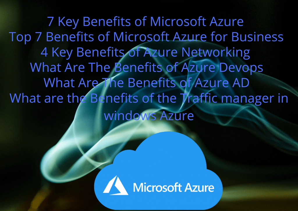 Benefits of Microsoft Azure