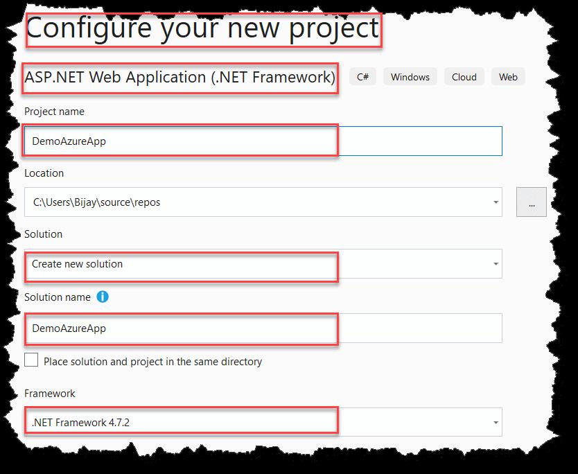 Deploy a Website to Microsoft Azure Portal