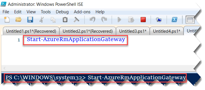 How to Restart Azure Application Gateway