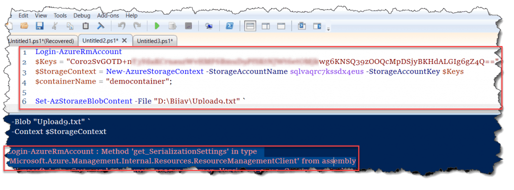 Method 'get_SerializationSettings' does not have an implementation