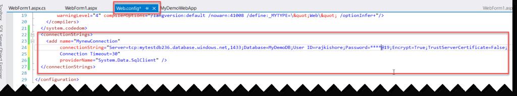 Perform CRUD Operations On Azure SQL Database
