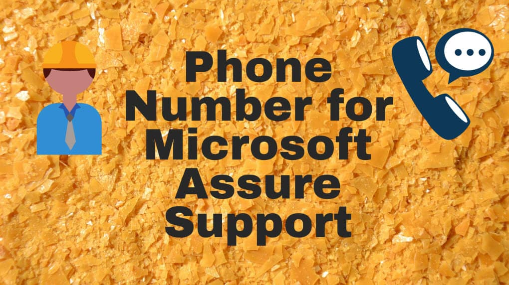 Phone Number for Microsoft Assure Support
