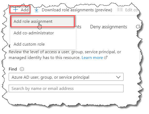 azure add user to resource group 1