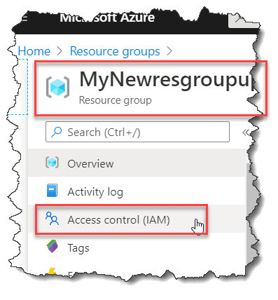 azure add user to resource group