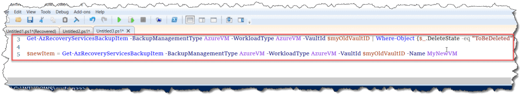delete azure recovery services vault using PowerShell
