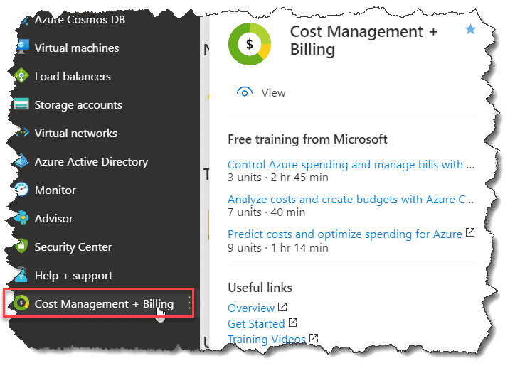 how to check azure credits