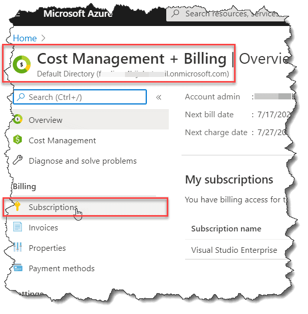 how to delete azure account