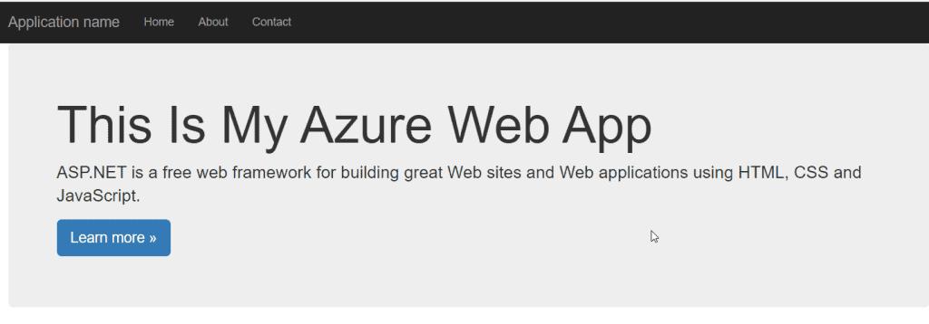 microsoft azure free website hosting