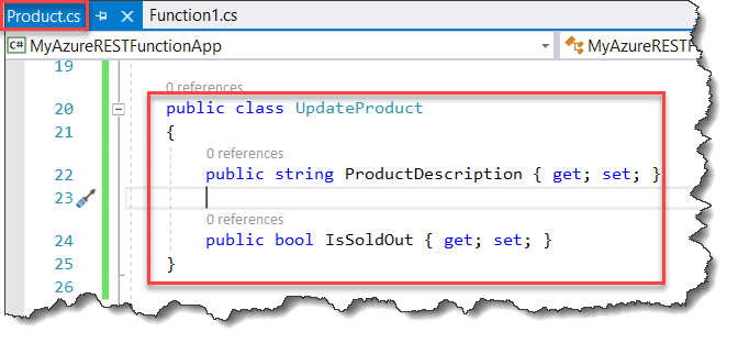 Create API With Azure Functions