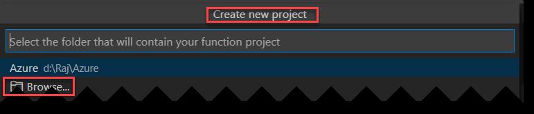 Create Azure Function App Using PowerShell in Visual Studio Code