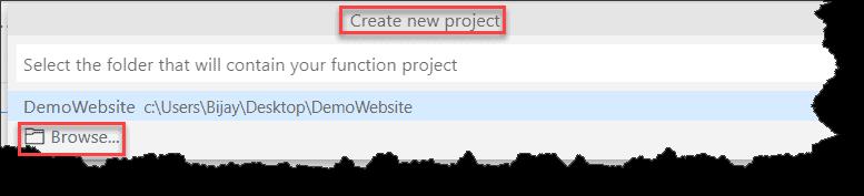 Create Azure Functions In Visual Studio Code