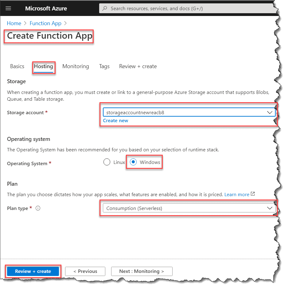 Create Node.js Azure Functions