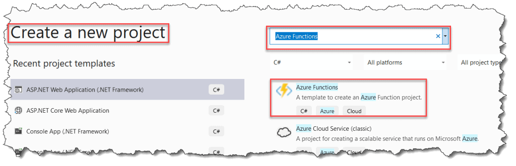 Create Blob Trigger Azure Function In Visual Studio