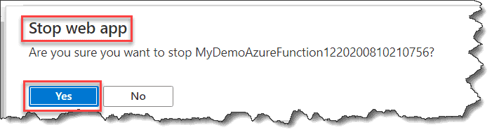 Error while deploying the Azure Function
