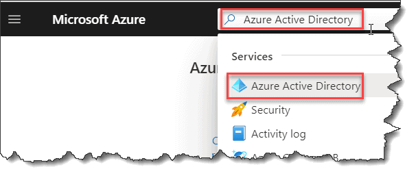 How do I access Azure Active Directory