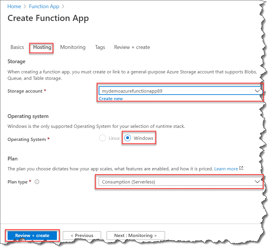 How to Create Azure Function App with PowerShell In Azure Portal