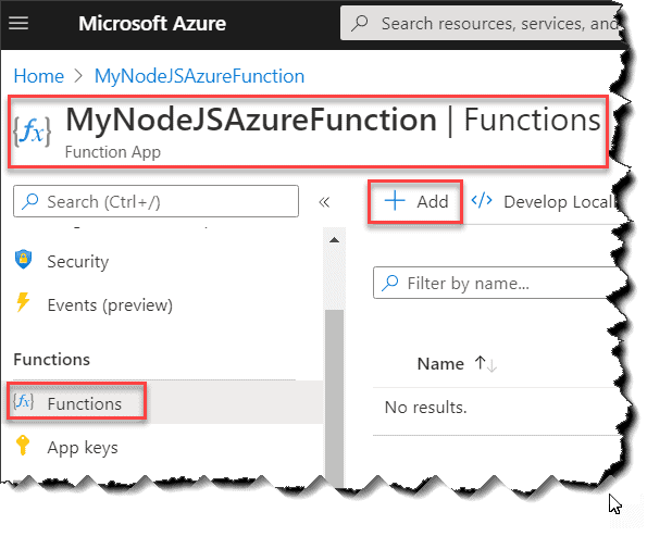 How to Create Node.js Azure Functions With VS Code IDE