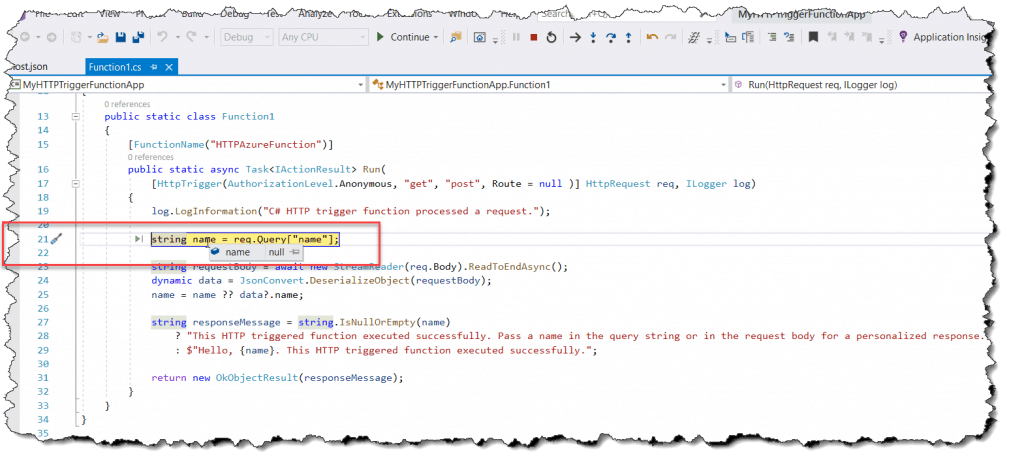 How to run Azure Function app on a different port in Visual Studio