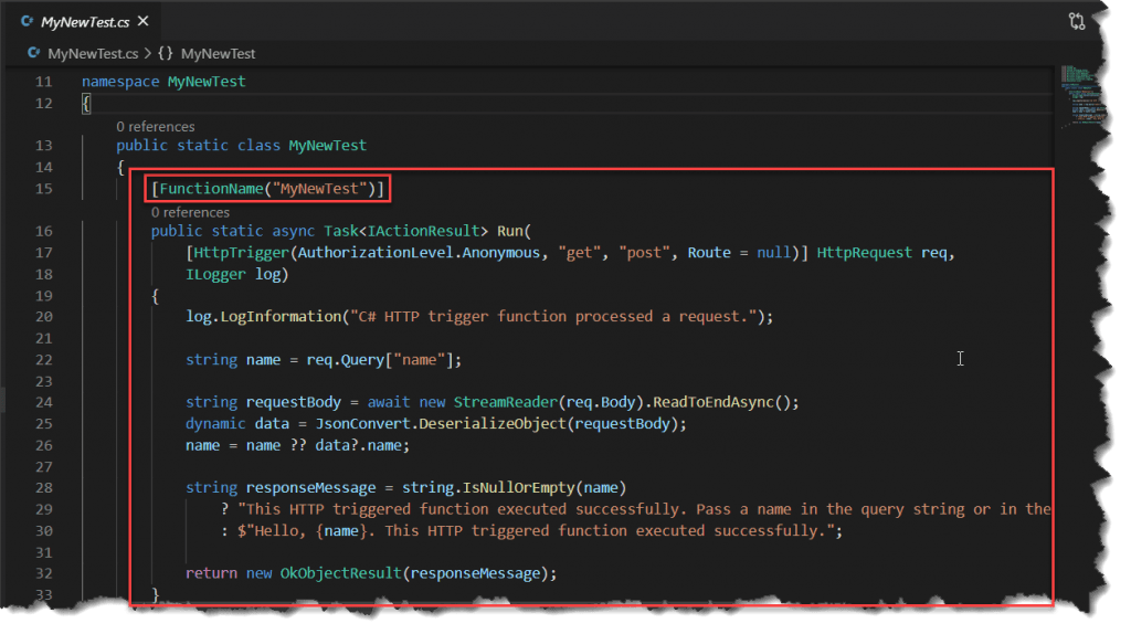Run Azure Functions Locally Visual Studio Code
