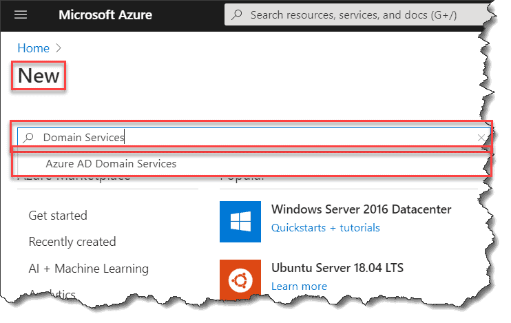 How to Setup Azure Active Directory Domain Services