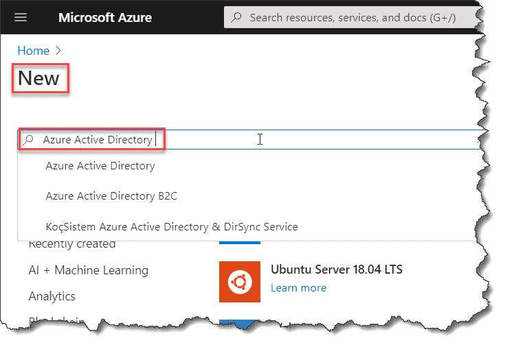 Steps to set up Azure Active Directory