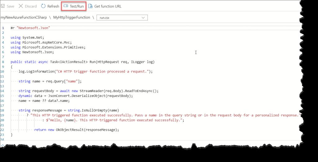 azure function example c#