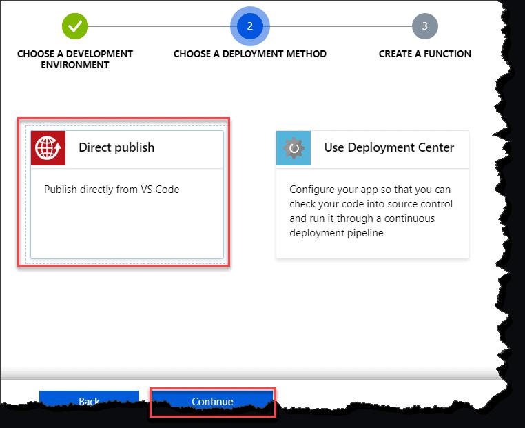 azure function javascript http request