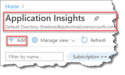 azure functions ilogger application insights