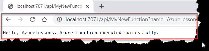 develop azure functions using .net core 3.1 visual studio